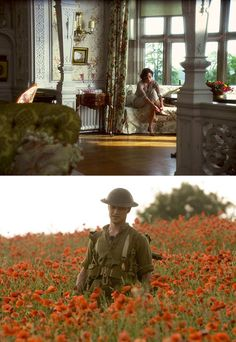 Inspiration (or wishful thinking) from Atonement's set design for my New York apartment