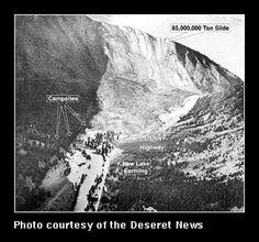 Madison Canyon Landslide, August 17, 1959