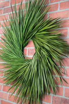 A beautiful large preserved palm leaf wreath on a sturdy metal frame. Easter Altar Decorations, Christmas Decorations, Easter Wreaths, Holiday Wreaths, Palm Frond Art, Tropical Christmas, Christmas Vacation, Christmas Stuff, Xmas