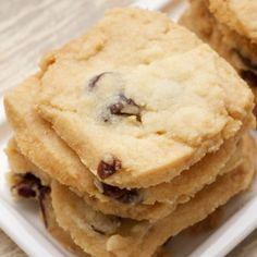 Cranberry Shortbread Recipe « Go Bold with Butter
