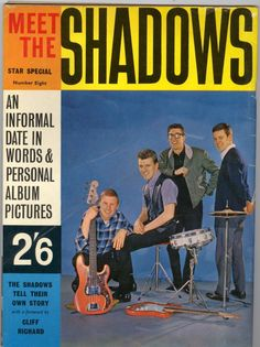 Meet the shadows a star special magazine 1963 printed in England