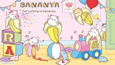 Bananya Anime....so strange but so cute!!!