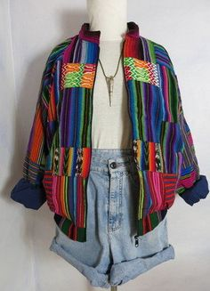 Bunt, Plaid Scarf, Mantel, Summer Outfits, Clothing, Vintage, Fashion, Mexico, Summer Clothes