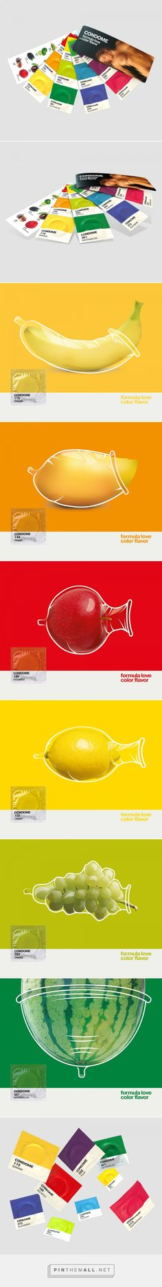 Pantone Condoms (Concept) - Packaging of the World - Creative Package Design…