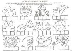 Spanish Classroom Activities, Alphabet Activities, Preschool Activities, Spanish Worksheets, Letter Worksheets, Preschool At Home, Learning Spanish, Phonics, Teaching