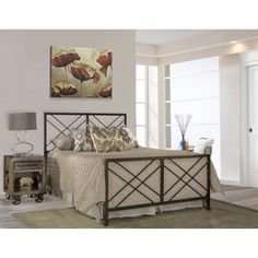Millwood Pines Tuohy Open Frame Headboard and Footboard & Reviews | Wayfair