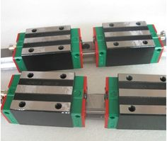 122.00$  Watch now - http://aliein.worldwells.pw/go.php?t=32699429118 - 2pcs Hiwin linear guide HGR25-400MM + 4pcs HGH25CA linear narrow blocks for cnc router 122.00$