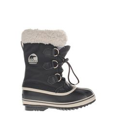 Sorel kids snowboots zwart YOOT PAC