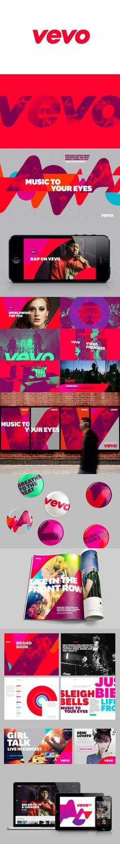 "Motion, color, duotone images, use of the letter ""V"" Brand Identity Design, Branding Design, Logo Design, Graphic Design, Branding Ideas, Corporate Branding, Corporate Design, Identity Branding, Web Design"