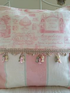 French Country Pillow Cover Sham Cottage by ParisLaundryDesigns