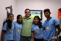 What would YOU like to ask a sponsored child about their experience in the Children International program?  Ronald Reyes (center) is a former Children International sponsored child who is now a full-time CI employee!