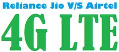 Reliance Jio vs Airtel 4G Services in India http://sandhutechblog.blogspot.com/2015/08/reliance-jio-vs-airtel-4g-services-in.html