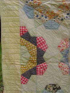 Vintage Rose Star quilt.