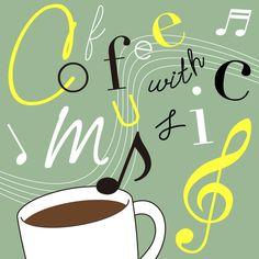 17世紀からコーヒーと音楽は切っても切れない関係にある。コーヒーがヨーロッパに伝わったその頃、サロン化したコーヒーハウスでは音楽を鑑賞しながらコーヒーを楽しんだと言われる。