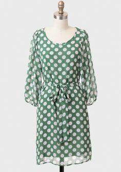 Judith Polka Dot Dress | Modern Vintage Dresses | Modern Vintage Clothing