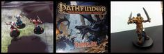 Pathfinder is a game where you create or pick a character and become that character and have a fantastic adventure right at your table! Now the recommended age is 13+ but the Beginner Box was used to teach kids as young as 4 (the Gentleman!) at Gen Con! That is actually (of course) how we discovered it and we are hooked!