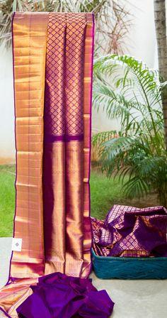 Kanchivaram Silk L02767 | Lakshmi