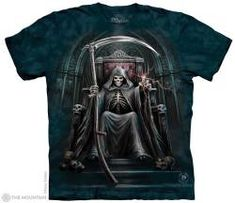The Mountain Skull T-shirt | Time Waits For No Man