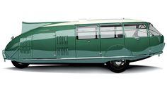 Buckminster Fuller (1895-1983) is voor veel architecten een held en inspirator.  Hij ontwierp deze prachtige Dymaxion Car uit 1933 die vriend/architect Norman Foster vorig jaar liet herbouwen.