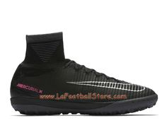 buy online 1d3d0 db4a3 Nike MercurialX Proximo II TF 831977 001 Chaussure de football pour surface  synthétique pour Homme Noir