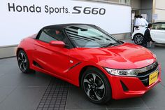 """Car: HONDA: S660: Photos from the new model presentation of S660 (via Japan web car media """"Car Watch"""") Part 1 (http://car.watch.impress.co.jp/docs/news/20150330_695347.html) The day of the presentation of the exhibition, in Honda welcome plaza Aoyama became the venue, eight cars were exhibited that 6 colors of body color, Modulo parts equipped car is a genuine accessories, and simultaneous announced MUGEN parts equipped car. The next day after that will be scheduled to two s660 is exhibited…"""
