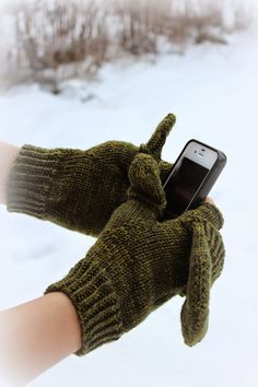 Men's Convertible Gloves and Thumbs by Steph Thomson