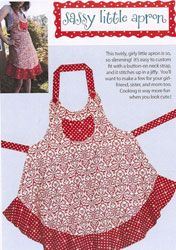 sassy little apron pattern by cabbage rose