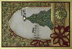 Weihnachtskarte für Danis Adventskalender  http://danielarogall.de/danis-adventskalender-2014/ - Tür 8,  Wichtelweihnachtskarte  - Daniela Rogall
