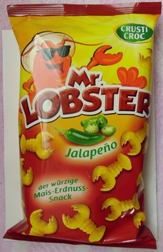 Chilihead Icewolf77: LIDL - Crusti Croc Mr. Lobster Jalapeño