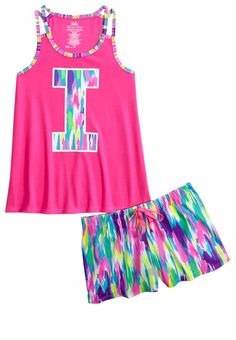 Justice is your one-stop-shop for on-trend styles in tween girls clothing & accessories. Shop our MOOS. Cute Pajamas, Girls Pajamas, Sport Outfits, Kids Outfits, Justice Pajamas, Matching Pjs, Justice Clothing, Girls Sleepwear, Girl Fashion