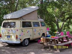 This bus is called Happy Camper VW
