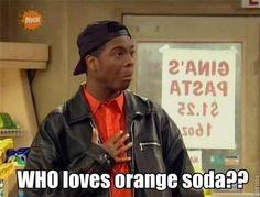 Kel Mitchell loves orange soda!