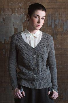 Subterraneans Cardigan Knitting Pattern