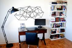 you don't need much space for a home office.