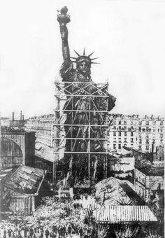 estatua de la libertad paris - Google Search
