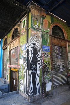 Graffiti in Athens by Carla Johnson