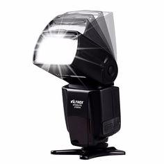 Speedlight de destello universal para LCD JY-680A cámaras Pentax Olympus Canon Nikon Viltrox