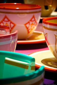 Mad Tea Party Color Inspiration