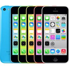 Apple iPhone 5c for Verizon, AT&T, and Sprint (Prices Based on Eligible Upgra...