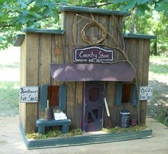 Hey, I found this really awesome Etsy listing at https://www.etsy.com/listing/232413791/primitive-birdhouse-primitive-country