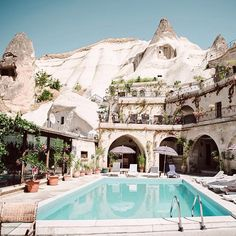 Lauren Bullen @gypsea * Cave Hotels of Goreme- Cappadocia, Turkey..Instagram photo