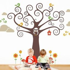 The perfect removable wall decal for your baby nursery! This cute and whimsical…