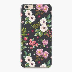 Watercolor iPhone 6S Case Floral iPhone 6/6S Cover by Create5Store