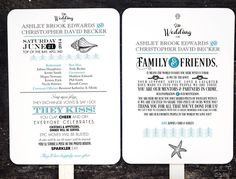 This unique wedding program fan can be made to match your existing wedding theme. Custom designs and rush orders are welcome.    •••••••••••• {