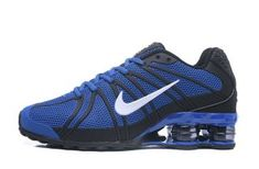 Original Nike Shox Kpu Royal Blue White Black , Experience sports, training, shopping and everything else that's new at Nike from any country in the world. Mens Nike Shox, Nike Shox Shoes, Nike Shox Nz, Mens Nike Air, Nike Men, Shoes Sneakers, Black Nike Shox, Sneakers Adidas, Blue Sneakers