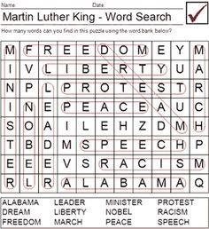 Martin Luther King On Pinterest Worksheets Nu Est Jr