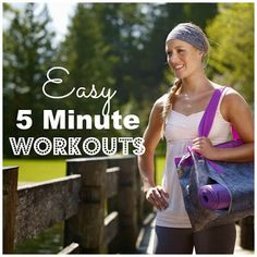 At Home Workouts you can do in 5 minutes