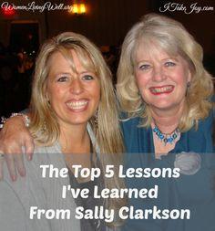 The Top 5 Lessons I've Learned From Sally Clarkson - Women Living Well  https://twitter.com/NeilVenketramen