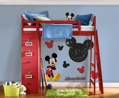 Mickey Room Ideas | Pinterest | Mickey mouse bedroom, Mickey mouse ...