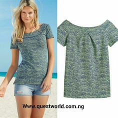 Casual Saturday #top #blouse @questworldboutique Nationwide Delivery. Pay on delivery-Lagos www.questworld.com.ng